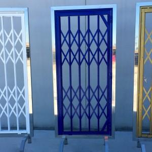 rejas de tijera para puertas